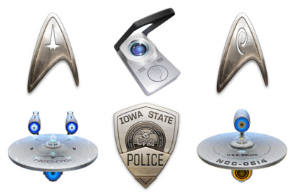 star-trek icons thumbnails