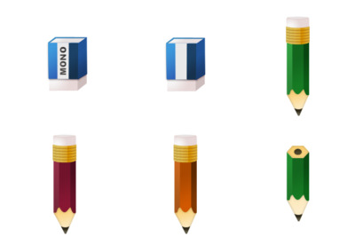 Stationary Icons thumbnails