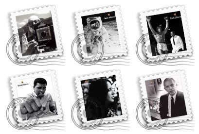 Think Different Stamps thumbnails