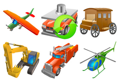 transport-vista icons thumbnails