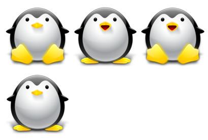 Tux - Penguin thumbnails