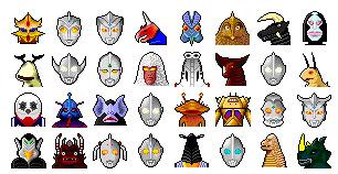Ultraman thumbnails
