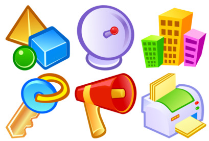 Vista Style Objects thumbnails