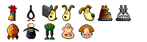 wallace-amp-gromit icons thumbnails