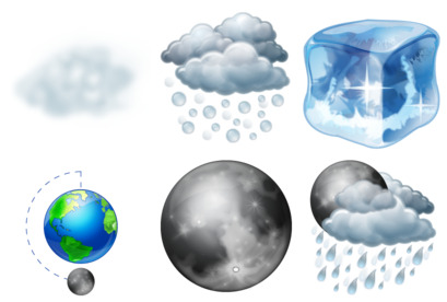 weather-2 icons thumbnails