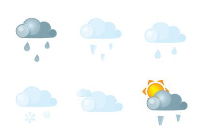 Weather thumbnails