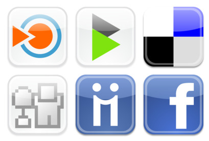 web-2 icons thumbnails
