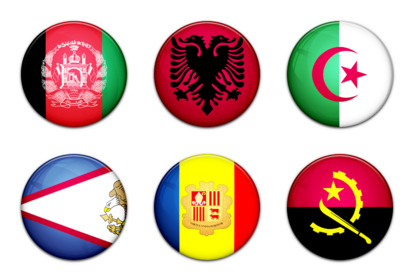 world-flag icons thumbnails