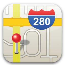 map Icons, free map icon download, Iconhot com